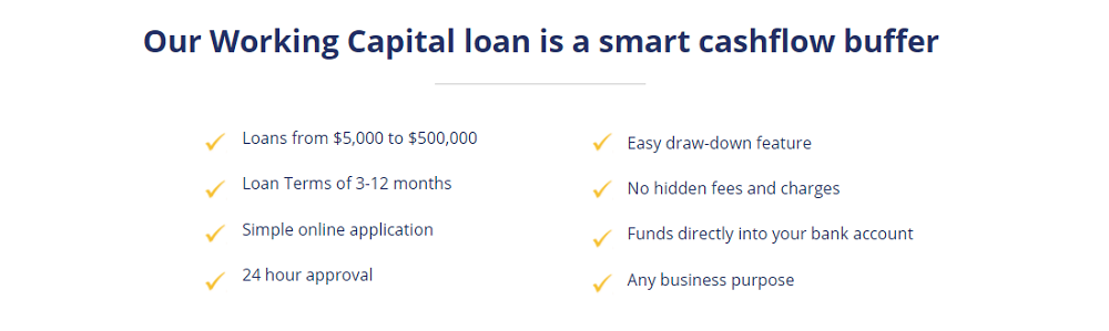 Advantages of a Working Capital Smart Loan